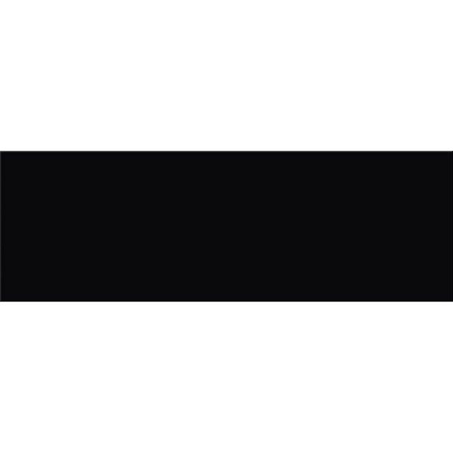 Płytka ścienna PRET A PORTER black glossy 25x75 gat. I