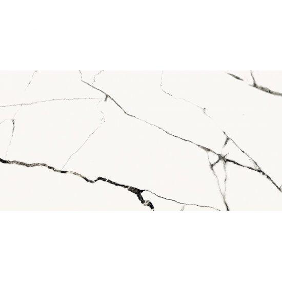 Gres szkliwiony ETERNAL white polished 59,8x119,8 gat. II