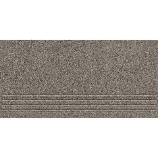 Gres techniczny stopnica KALLISTO graphite mat 29,7x59,8 gat. I