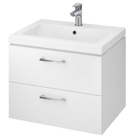 Szafka z umywalką LARA COMO 60 biała DSM