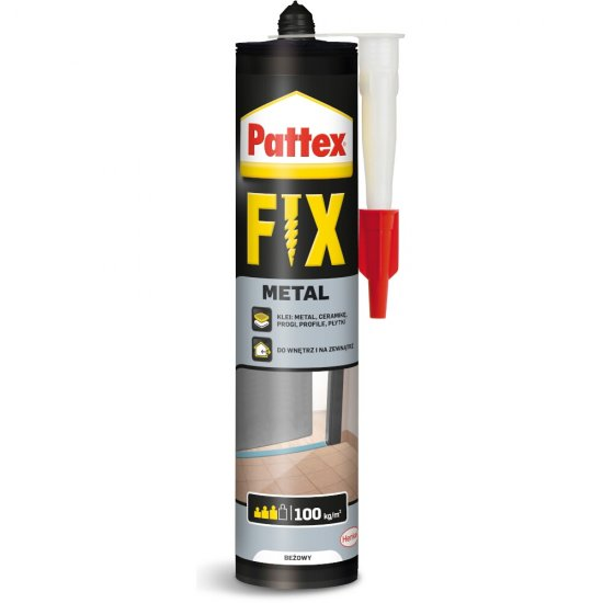 Klej uniwersalny PATTEX Fix Metal 392 g