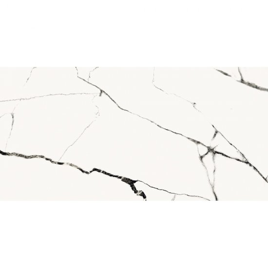Gres szkliwiony ETERNAL white polished 59,8x119,8 gat. I