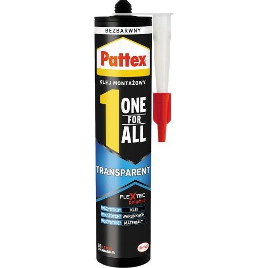 Klej uniwersalny PATTEX One For All Transparent 290 g