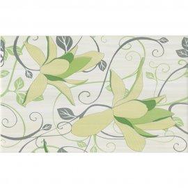 Płytka ścienna ARTIGA light green inserto kwiaty błyszcząca 25x40 gat. I