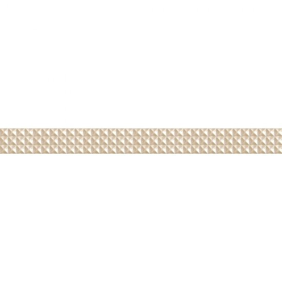 Płytka ścienna JAZZ cream listwa geo mat 5,4x59,3 gat. I