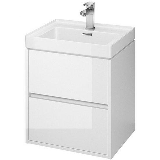 Szafka z umywalką CREA 50 biała