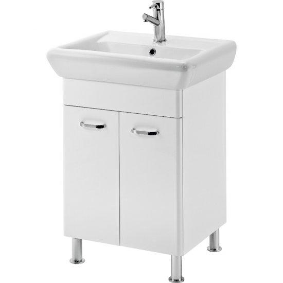 Szafka z umywalką ALPINA IRYDA 60 biała DSM