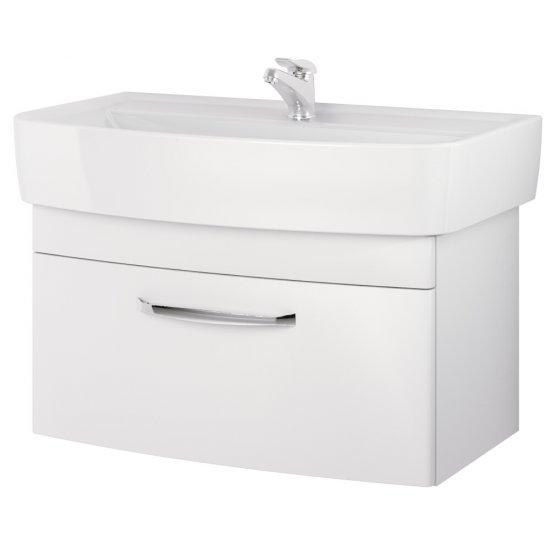 Szafka podumywalkowa pod umywalkę PURE 80 biała