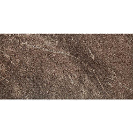 Gres szkliwiony ARIGATO brown mat 29,7x59,8 gat. II