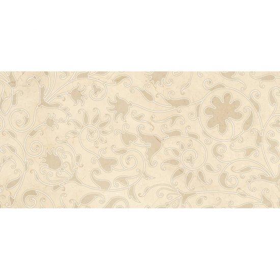 Płytka ścienna inserto LIGHT MARBLE beige classic glossy 29x59,3 gat. I