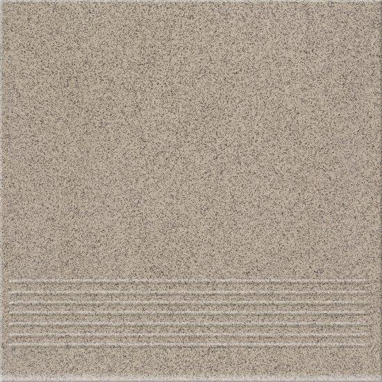 Gres techniczny stopnica HOPER grey mat 29,7x29,7 gat. I