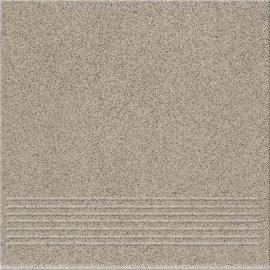 Gres techniczny HOPER grey stopnica mat 29,7x29,7 gat. I