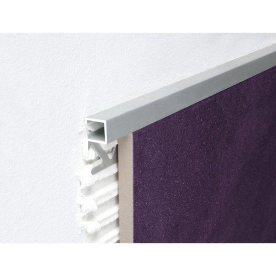 Profil zakończeniowy A87 srebrny mat 10 mm 2,5 m EFFECTOR