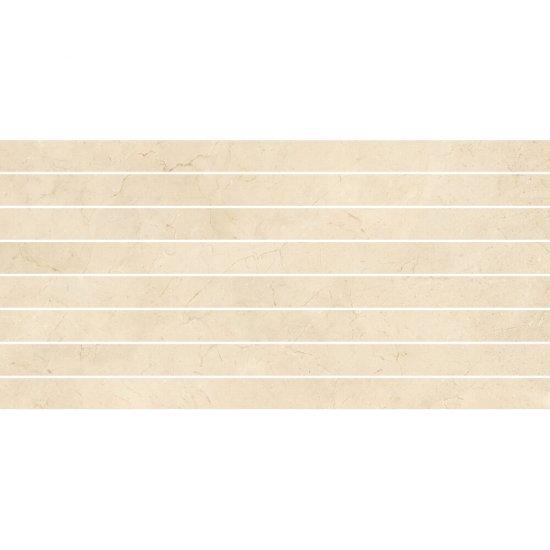 Płytka ścienna mozaika LIGHT MARBLE beige belt mat 29x59,3 gat. I