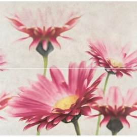 Płytka ścienna kompozycja CREAMY TOUCH multikolor flower mat 58x59,3 gat. I