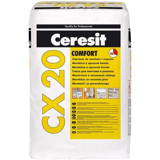 Zaprawa do montażu i napraw CERESIT CX20 20kg
