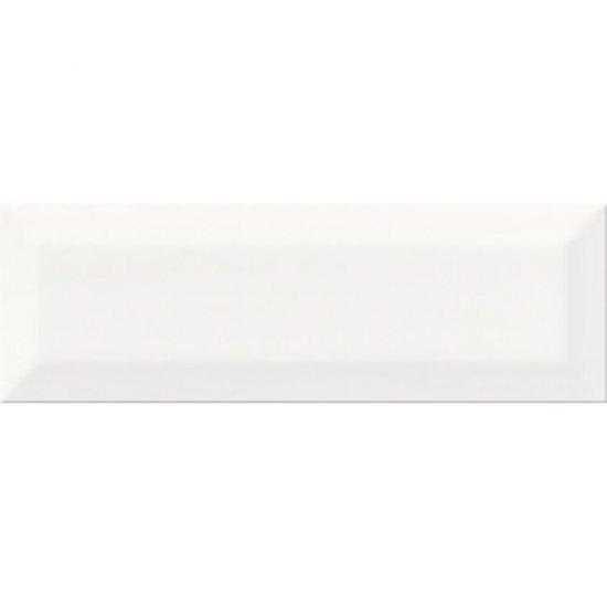 Płytka ścienna METRO STYLE white structure glossy 10x30 gat. I