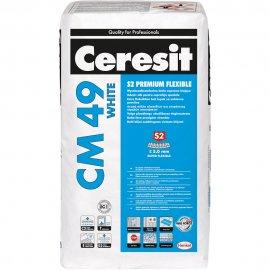 Zaprawa klejowa do płytek CERESIT CM 49 White 20kg