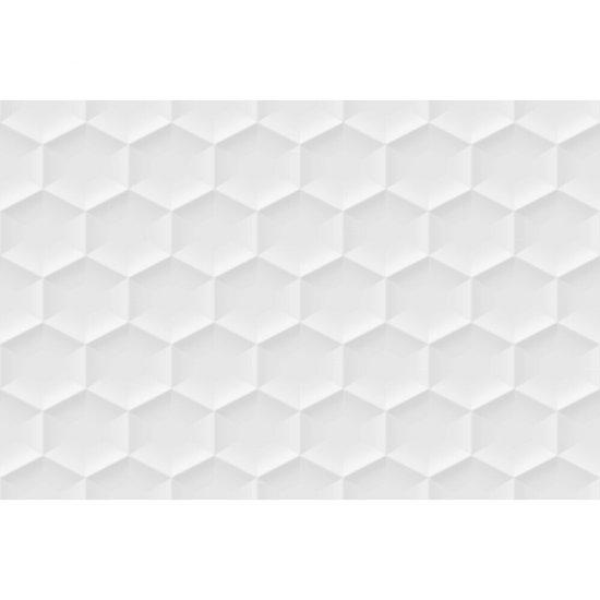 Płytka ścienna dekor white satyna heksagon 30x45 gat. I