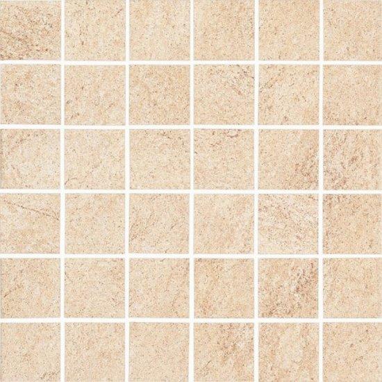 Gres szkliwiony KAROO beżowy mozaika mat 29,7x29,7 gat. I