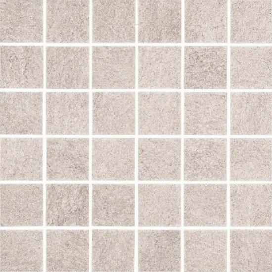 Gres szkliwiony KAROO szary mozaika mat 29,7x29,7 gat. I