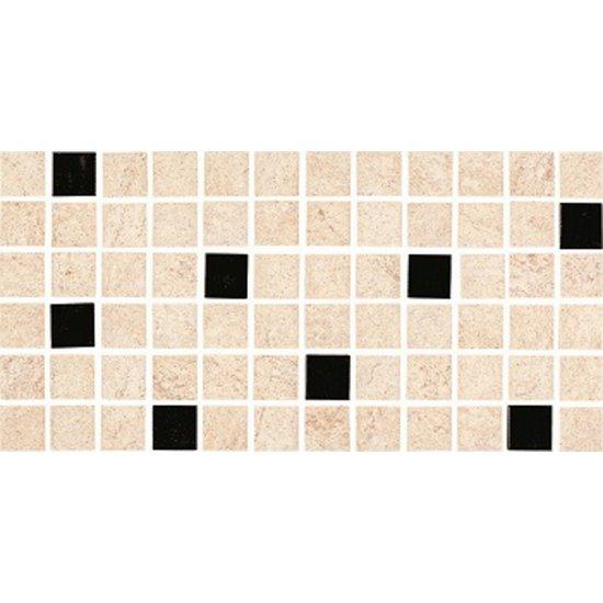 Gres szkliwiony KAROO beżowy mozaika mat 14,7x29,7 gat. I