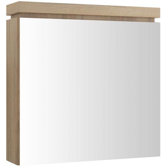 Szafka łazienkowa wisząca z lustrem OLIVIA orzech