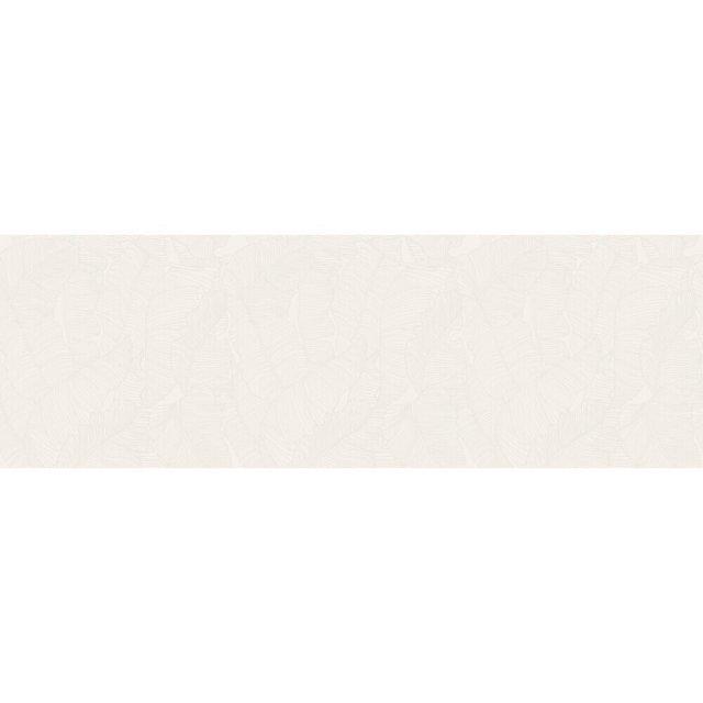 Płytka ścienna GREEN SHOW leaves white satin 39,8x119,8 gat. II