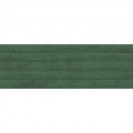 Płytka ścienna GREEN SHOW green structure satyna 39,8x119,8 gat. II