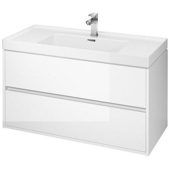 Szafka z umywalką CREA 100 biała