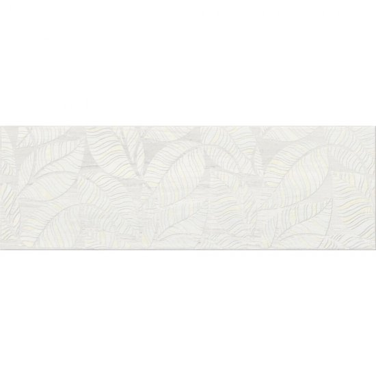 Płytka ścienna inserto LIVI cream leaves 19,8x59,8 gat. I