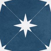 Gres szkliwiony hiszpański Geotiles PONENT Blue 22,3x22,3 gat. I