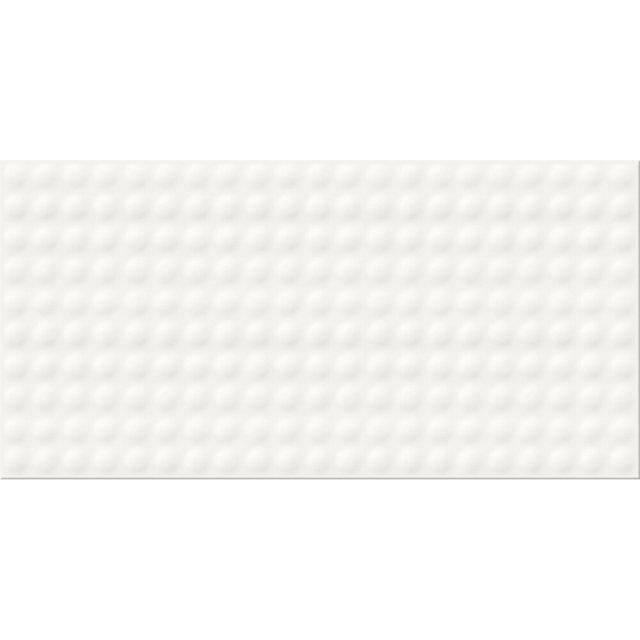 Płytka ścienna ORIGAMI DUNE PULSE white struktura błyszcząca 29,7x60 gat. I
