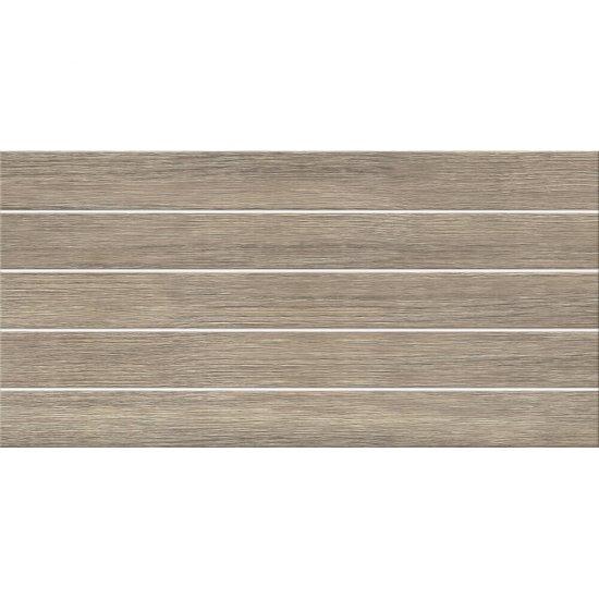 Płytka ścienna NATURE brown wood structure satyna 29,7x60 gat. I