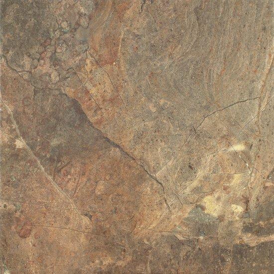 Gres szkliwiony RUSTYK brown mat 42x42 gat. II