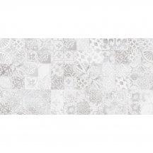 Płytka ścienna CEMENTO PERTH grey patchwork shiny 30x60 gat. I