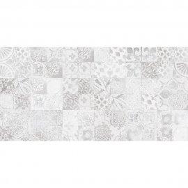 Płytka ścienna CEMENTO PERTH grey patchwork błyszcząca 30x60 gat. I