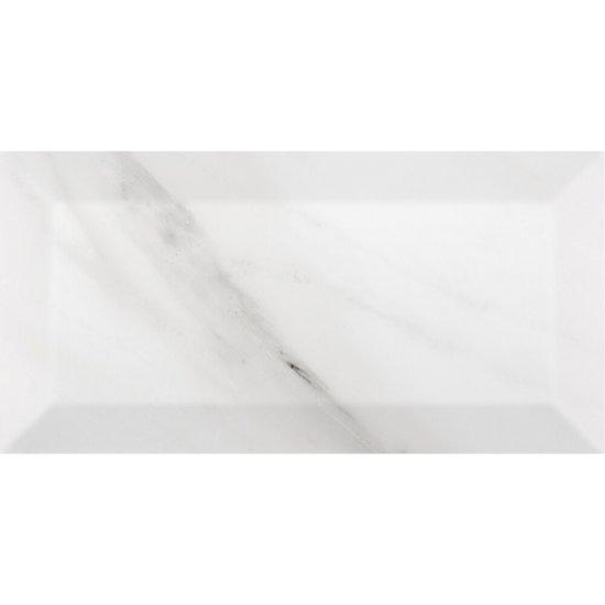 Płytka ścienna METROTILES 3D white karrara połysk 10x20 Golden Tile gat. I