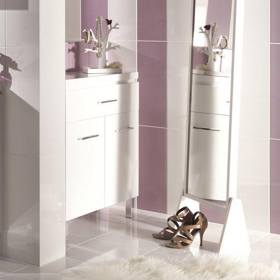 Komoda łazienkowa OLIVIA biała DSM