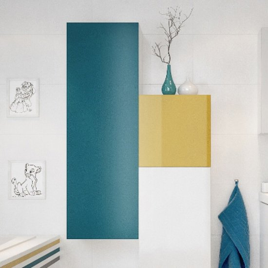 Front do szafki COLOUR 40x80 niebieski