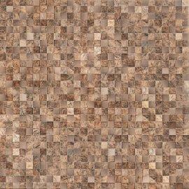 Gres szkliwiony ROYAL GARDEN brown mat 42x42 gat. I