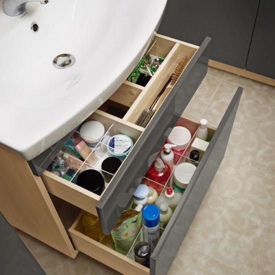 Zestaw organizerów do szafek SMART pod umywalkę CARINA 70