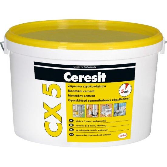 Zaprawa szybkowiążąc, CERESIT CX5 2kg