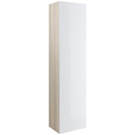 Słupek łazienkowy wiszący SMART biały