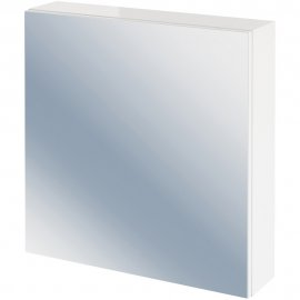 Szafka łazienkowa wisząca z lustrem COLOUR / EASY biała
