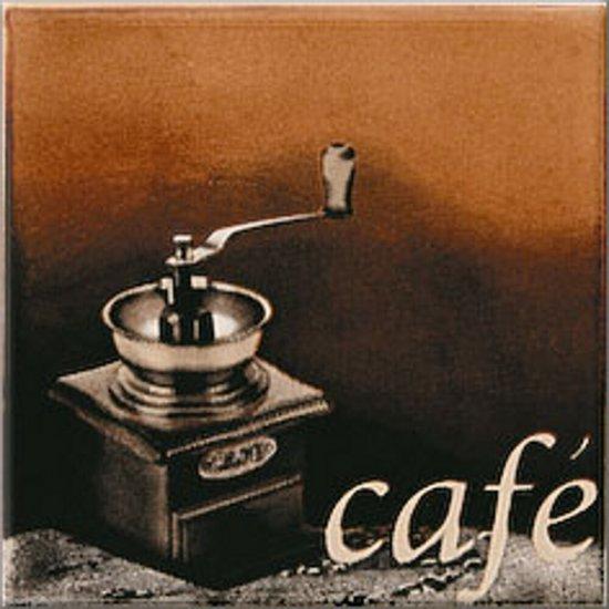 Płytka ścienna INWENCJA multikolor inserto cafe 1 błyszcząca 10x10 gat. I