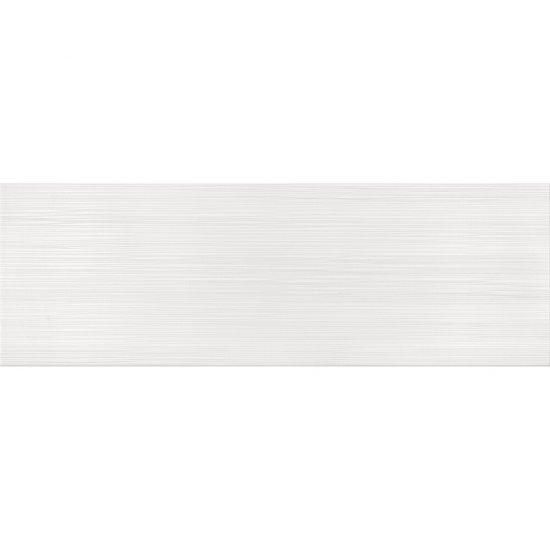 Płytka ścienna DELICATE LINES white glossy 25x75 gat. II
