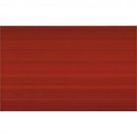 Płytka ścienna LORIS red structure glossy 25x40 gat. I