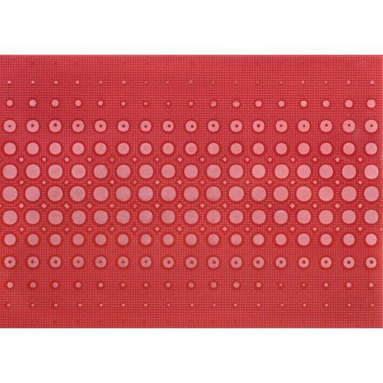 Płytka ścienna inserto OPTICA red modern glossy 25x35 gat. I