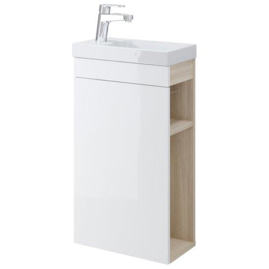 Szafka podumywalkowa SMART biała pod umywalkę COMO 40